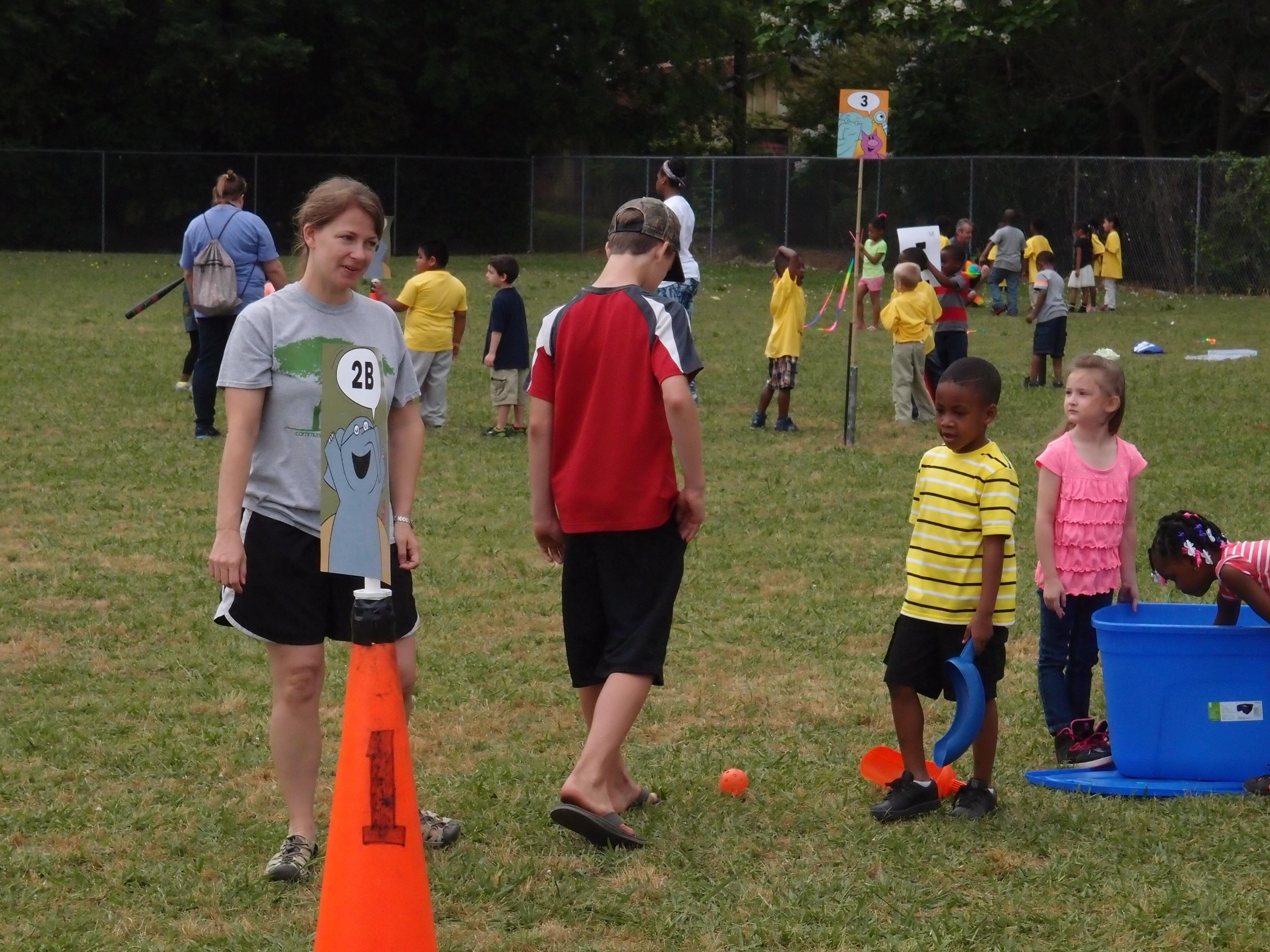 Tarrant Elementary School Field Day