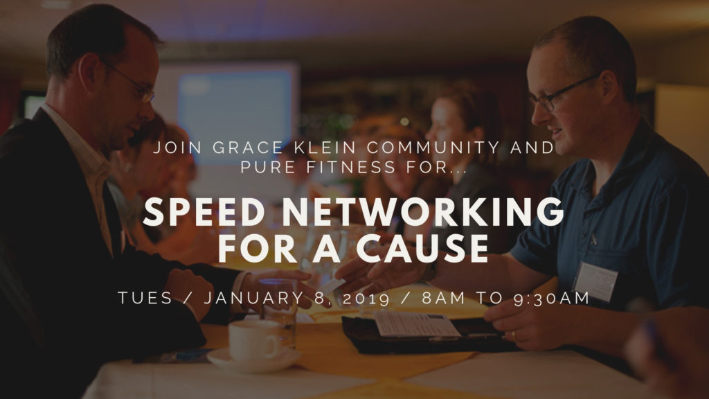 Speed Networking for a Cause